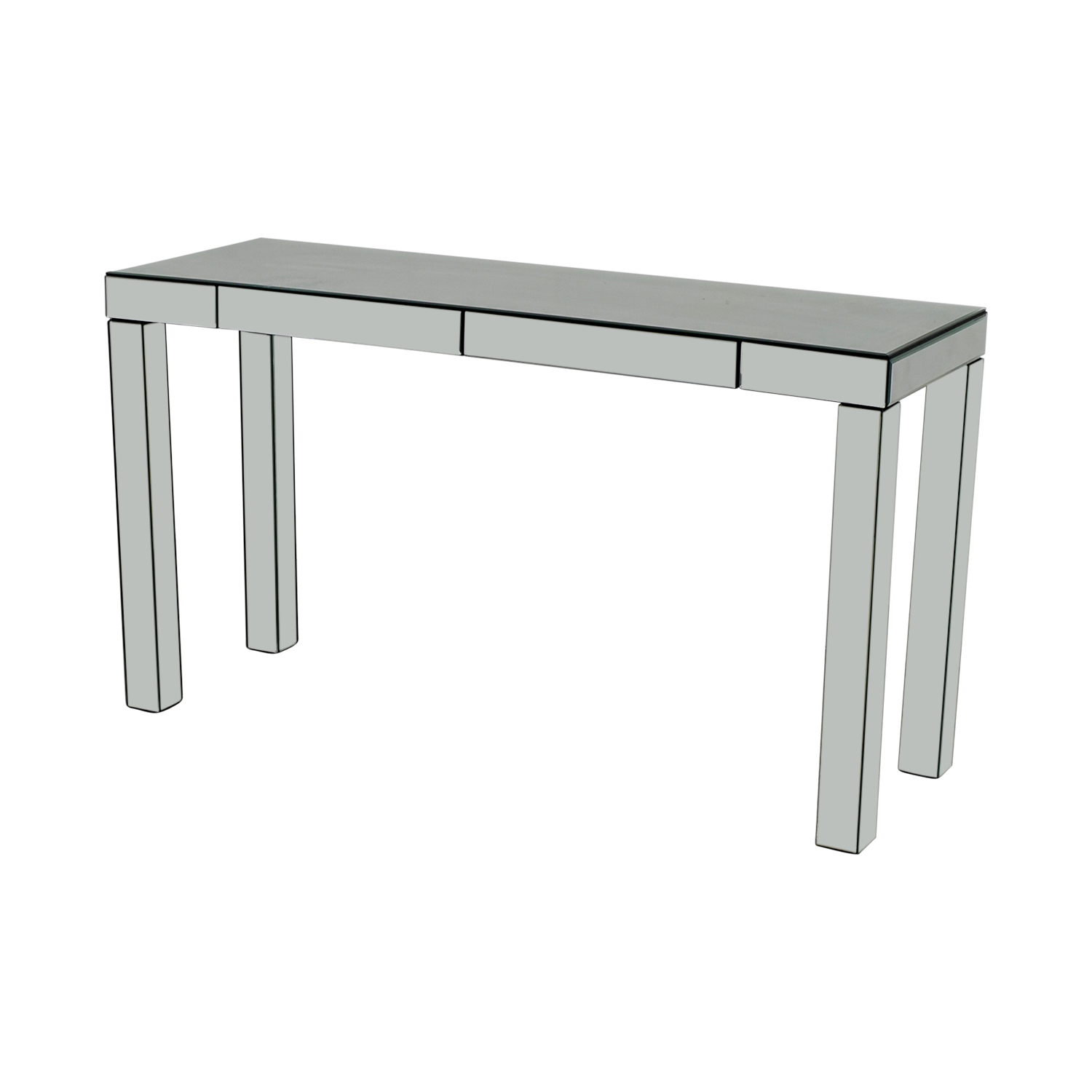 buy West Elm Parsons Mirrored Console West Elm Tables