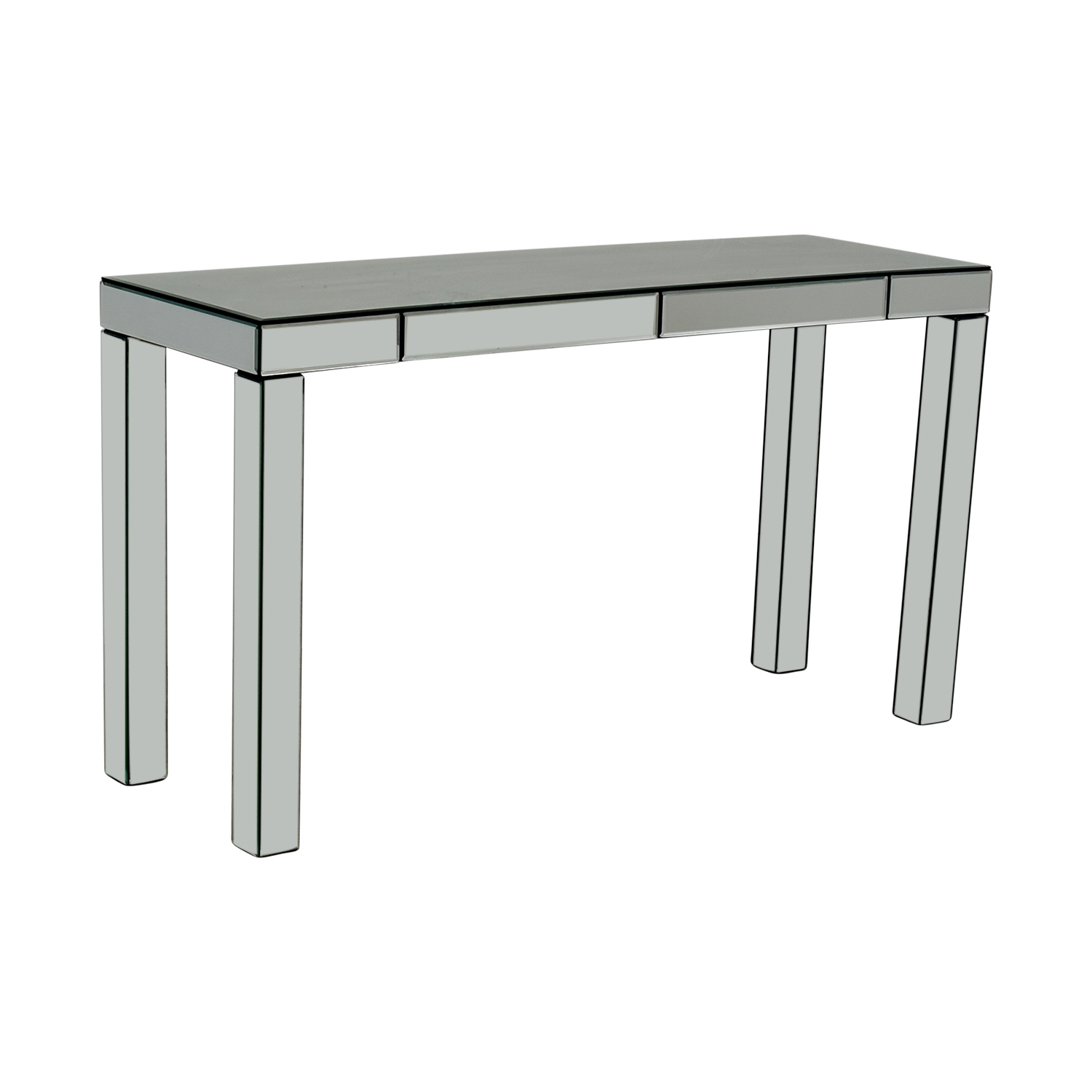 OFF West Elm West Elm Parsons Mirrored Console Tables - West elm parsons console table