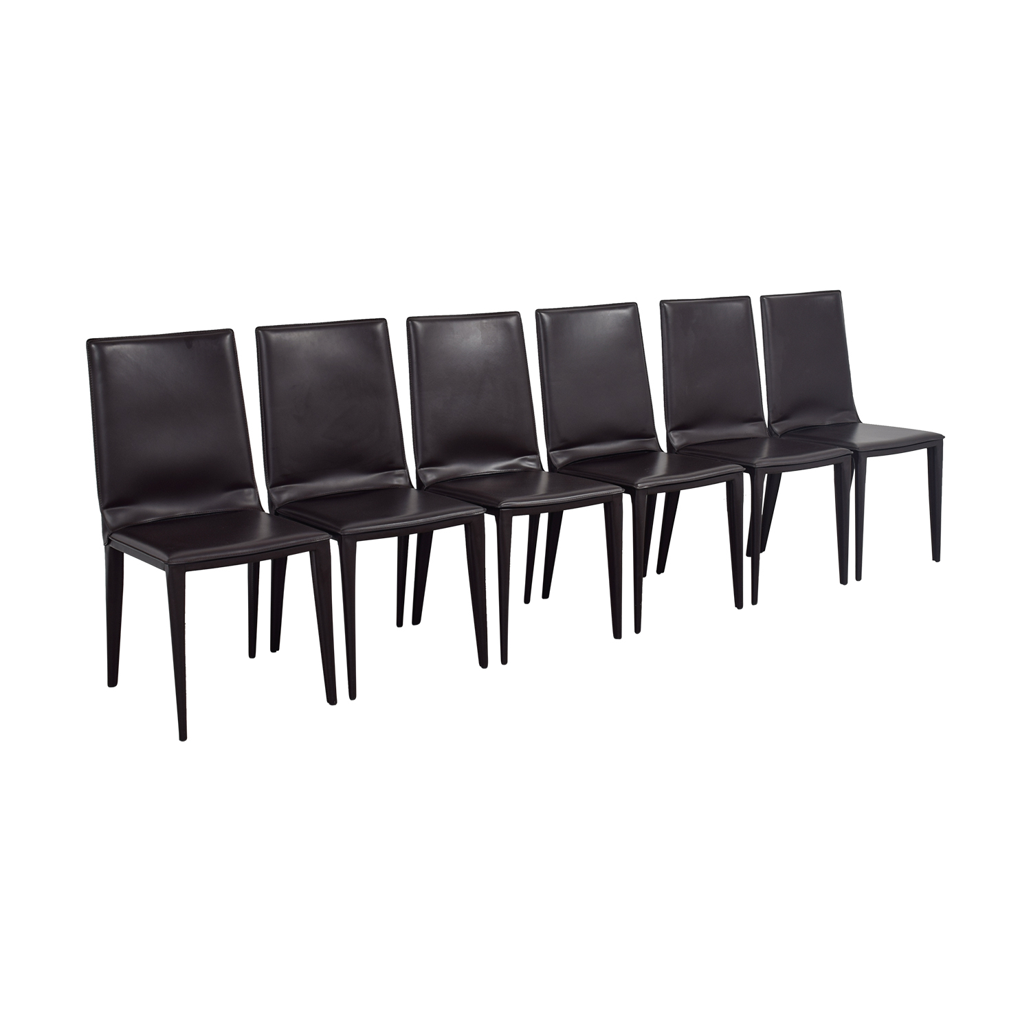 Frag Frag Brown Leather Dining Room Chairs Chairs