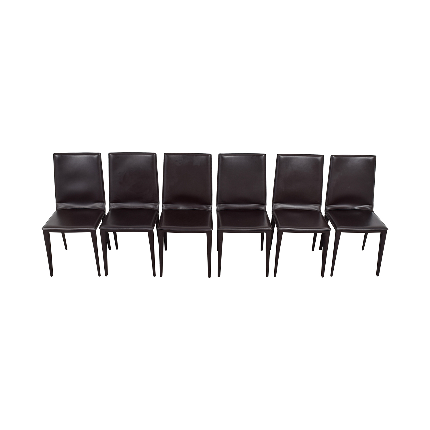buy Frag Brown Leather Dining Room Chairs Frag Dining Chairs
