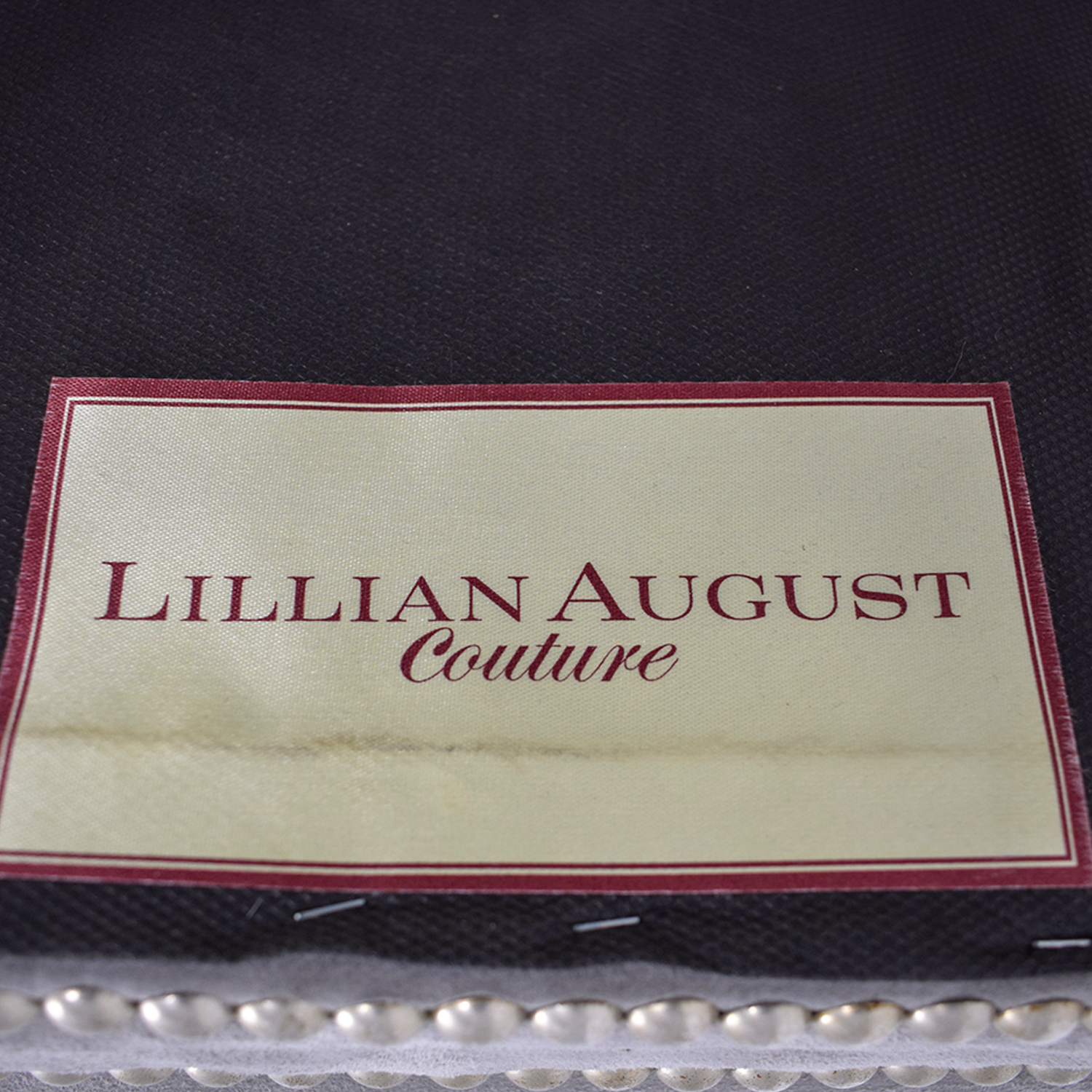 Lillian August Lillian August Grey Suede Nailhead Ottomans or Stools nyc