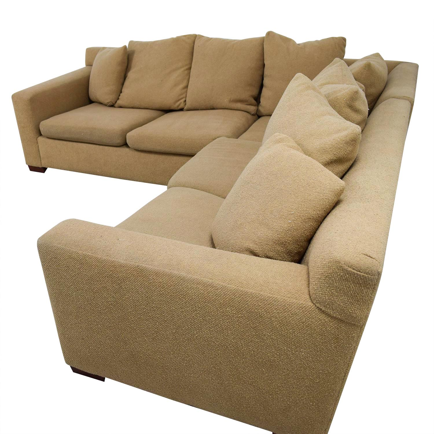 89 Off Ralph Lauren Home Ralph Lauren Down Filled Tan Sectional