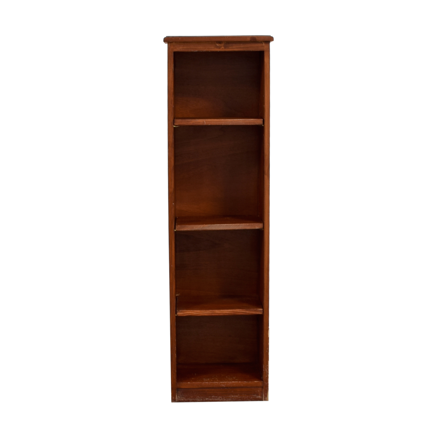 Gotham Cabinet Craft Narrow Wood Bookshelf Bookcases Shelving