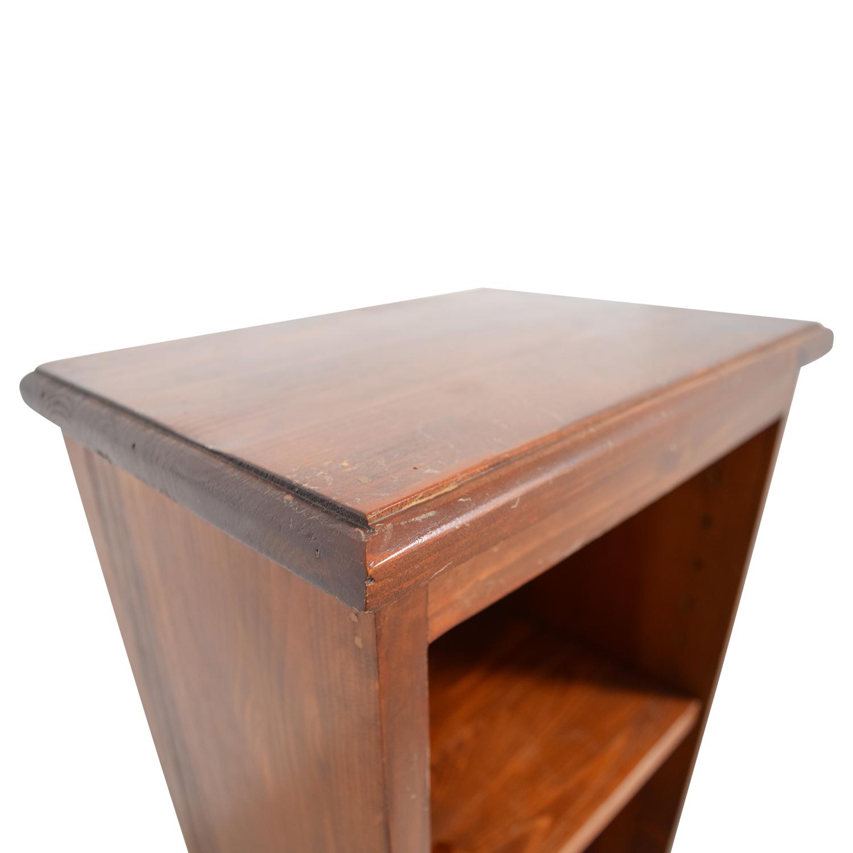 ... Gotham Cabinet Craft Gotham Cabinet Craft Narrow Wood Bookshelf  Bookcases U0026 Shelving ...