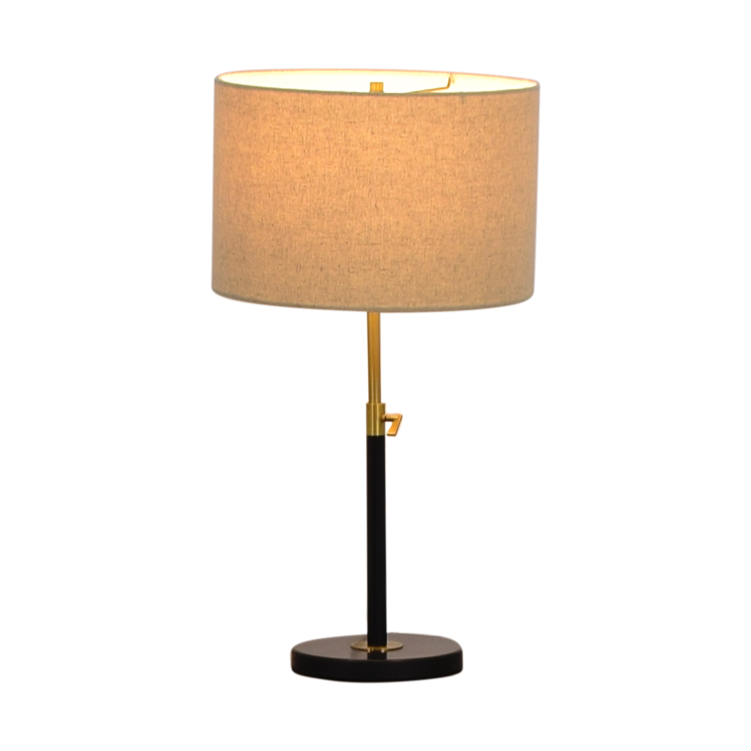 West Elm West Elm Black Telescoping Table Lamp