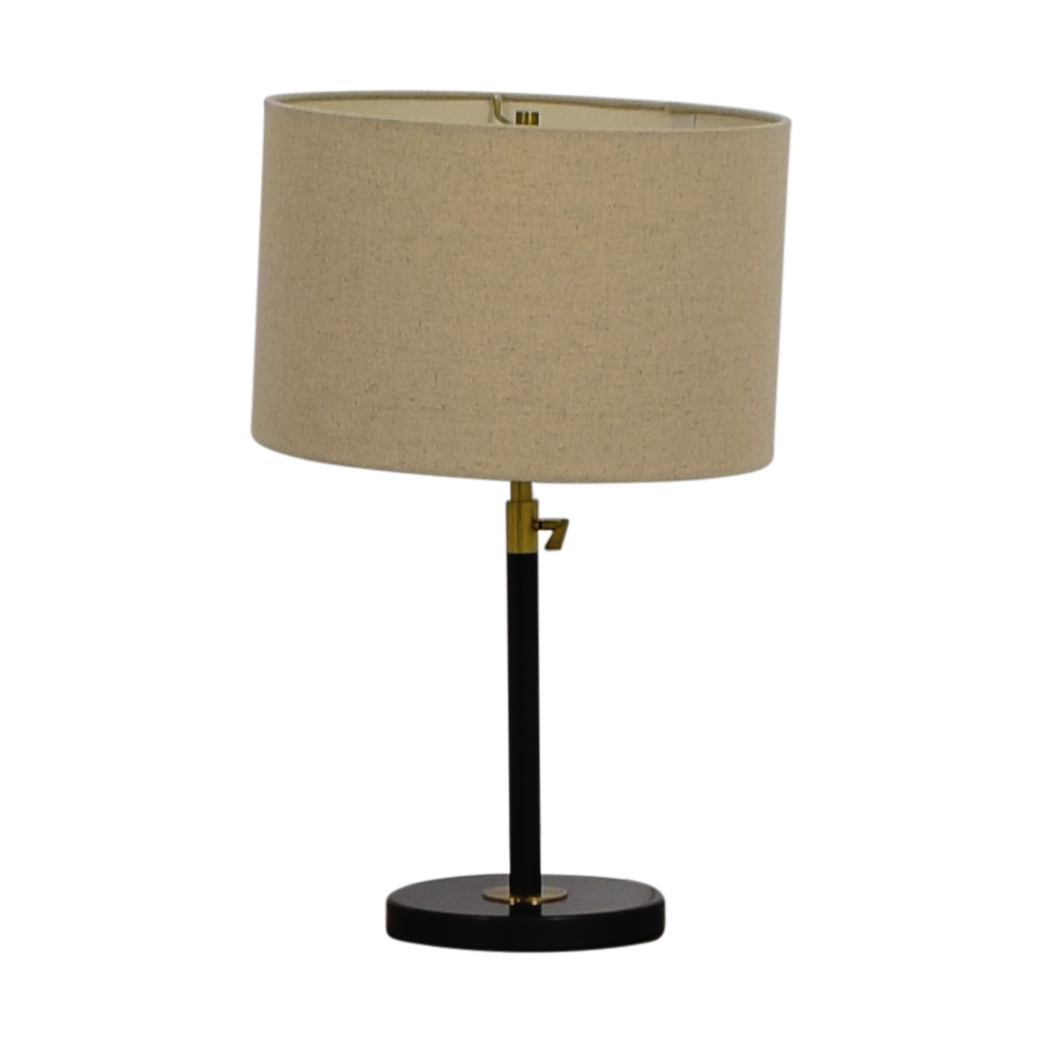 West Elm West Elm Black Telescoping Table Lamp second hand