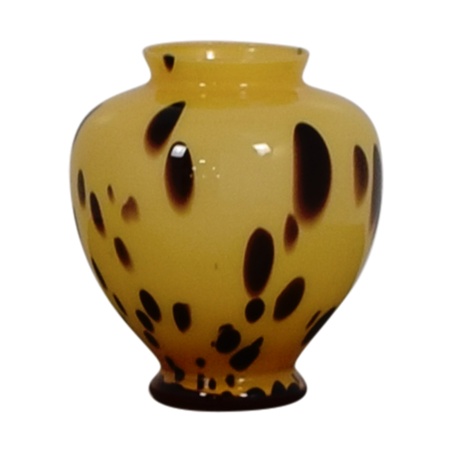 buy Beige and Gold with Brown Spots Vase online