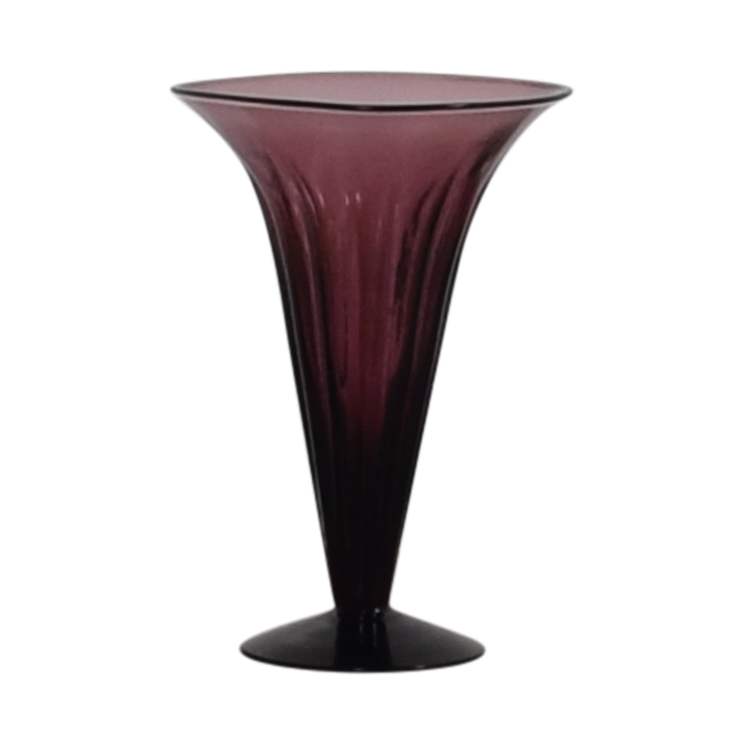 shop Purple Fluted Vase online
