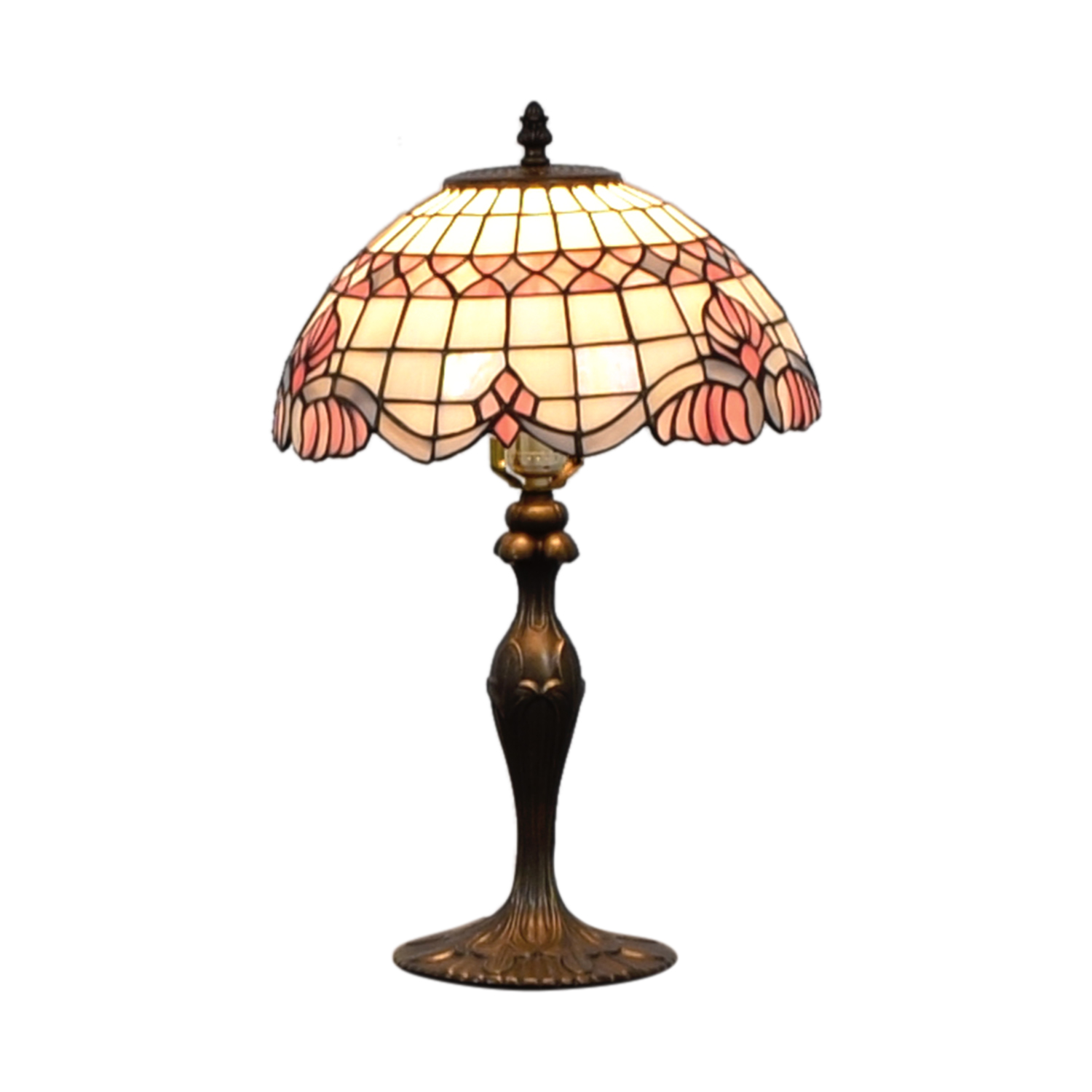 buy Tiffany Inspired Stained Glass Table Lamp