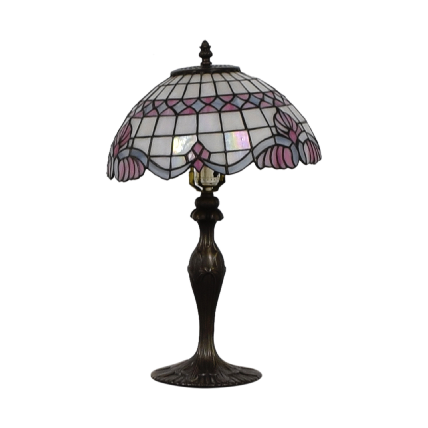 Tiffany Inspired Stained Glass Table Lamp price