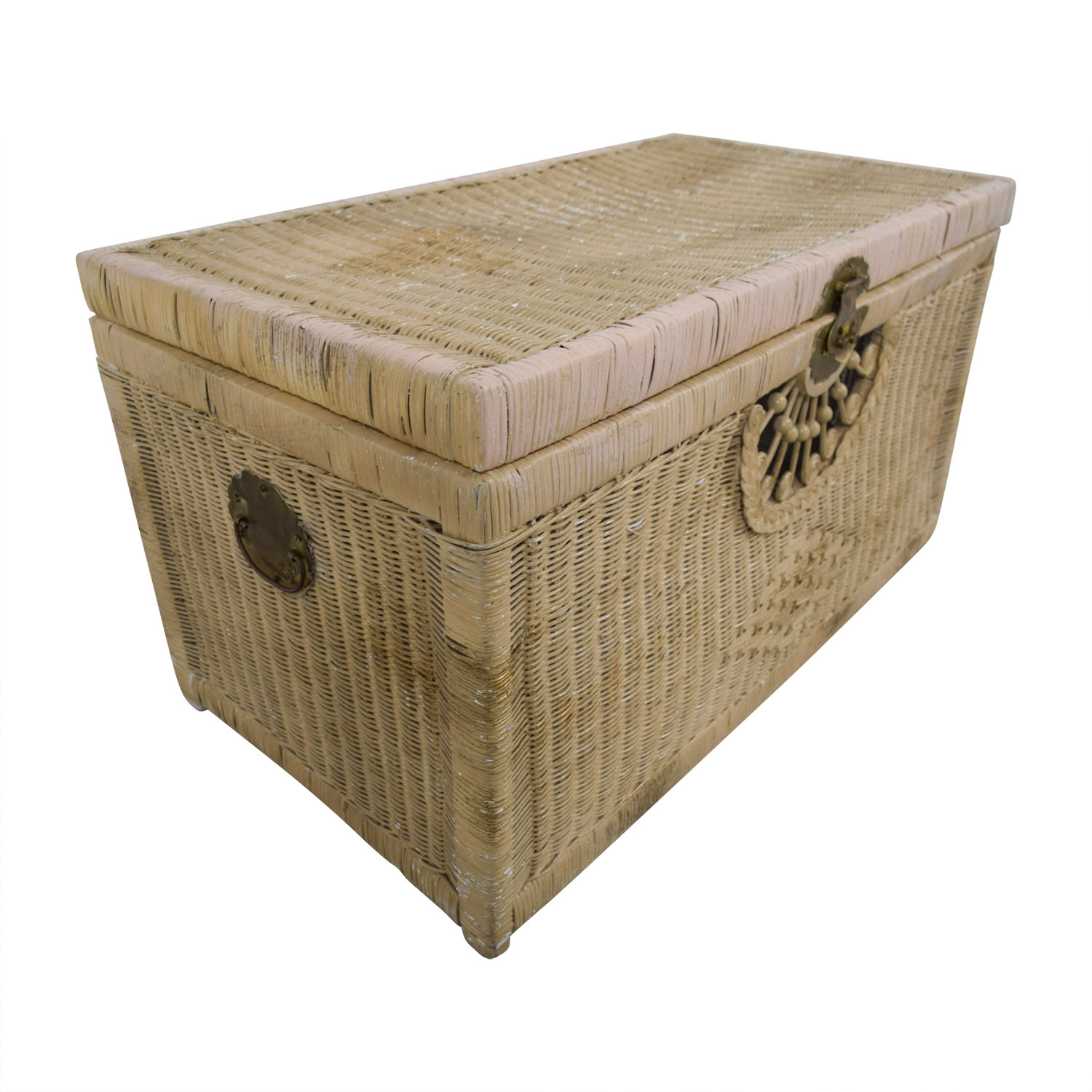 Pier 1 Imports Natural Wicker Trunk Pier 1 Imports