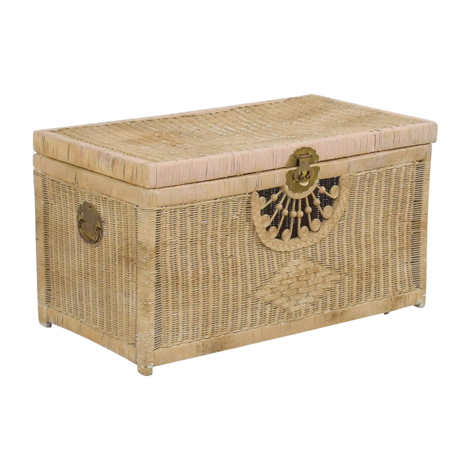 buy Pier 1 Imports Pier 1 Imports Natural Wicker Trunk online