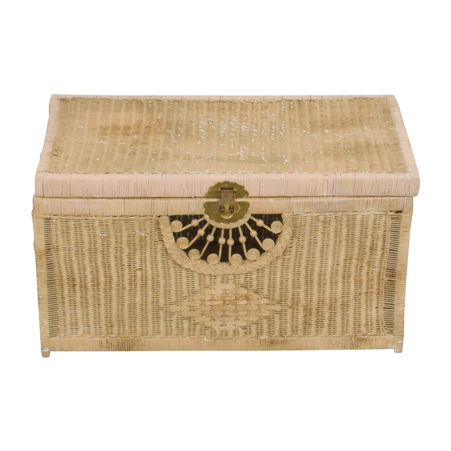 shop Pier 1 Imports Pier 1 Imports Natural Wicker Trunk online