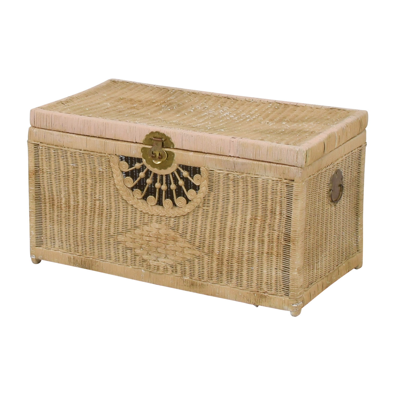 Pier 1 Imports Pier 1 Imports Natural Wicker Trunk nyc