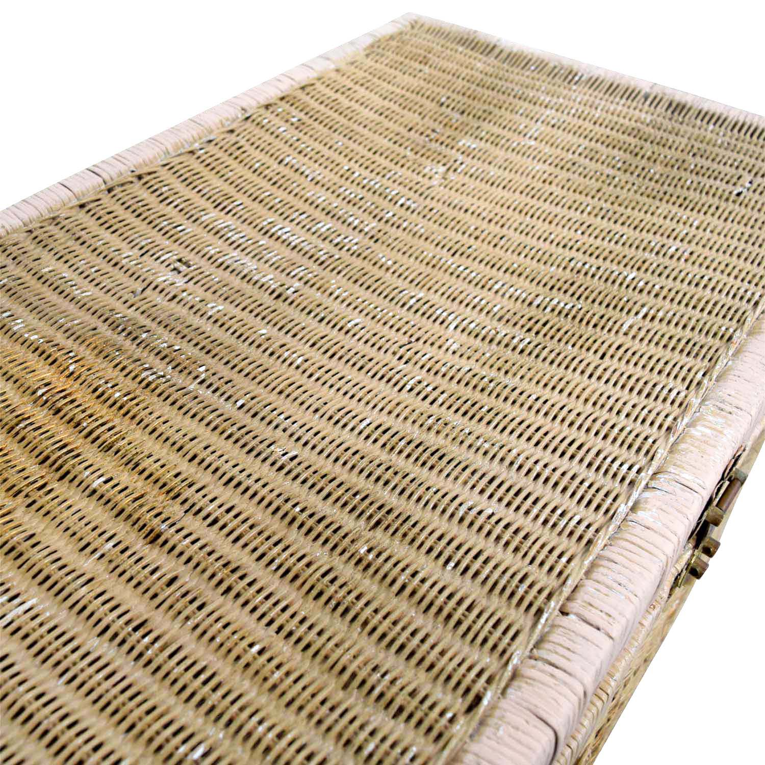 Pier 1 Imports Pier 1 Imports Natural Wicker Trunk used