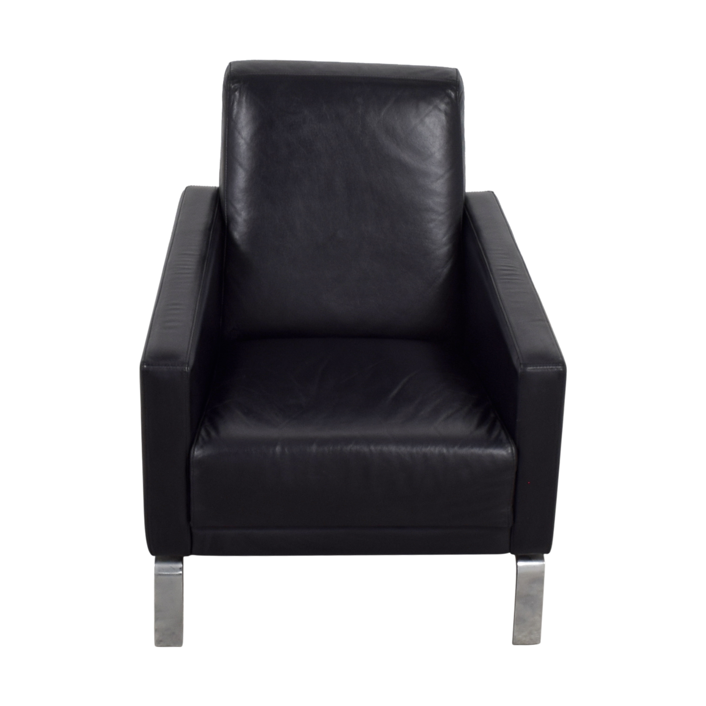 BoConcept BoConcept Black Leather Fly Chair price
