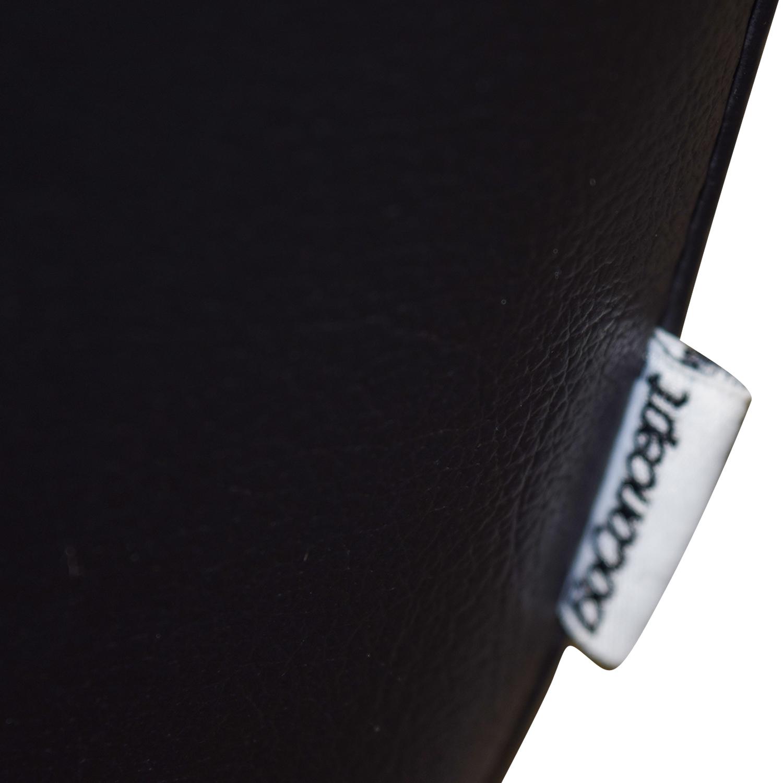 BoConcept BoConcept Black Leather Fly Chair