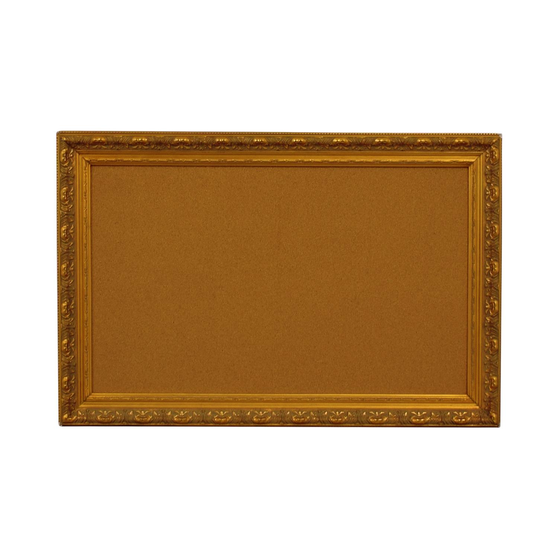 buy Ballard Designs Cork Board in Gold Frame Ballard Designs Decor