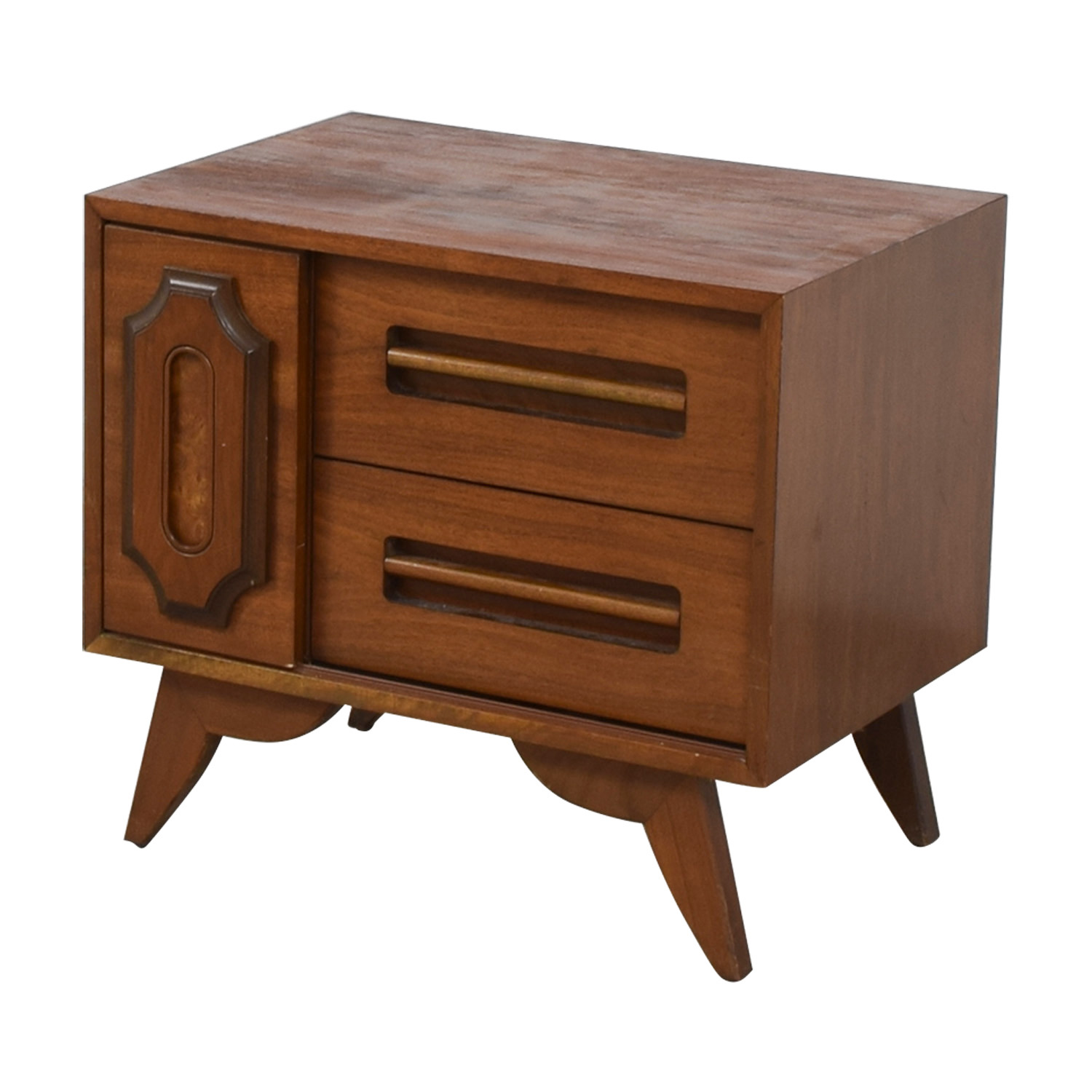 69 Off Two Drawer Side Table Tables