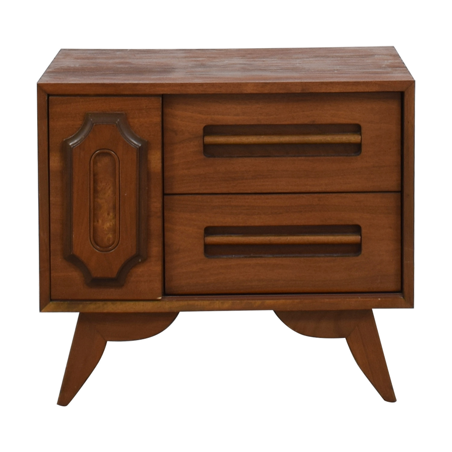 Two-Drawer Side Table on sale