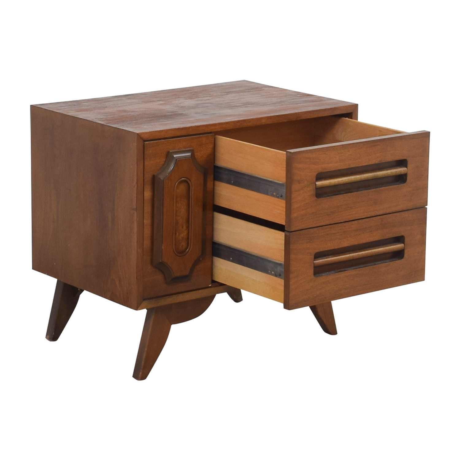 Two-Drawer Side Table sale