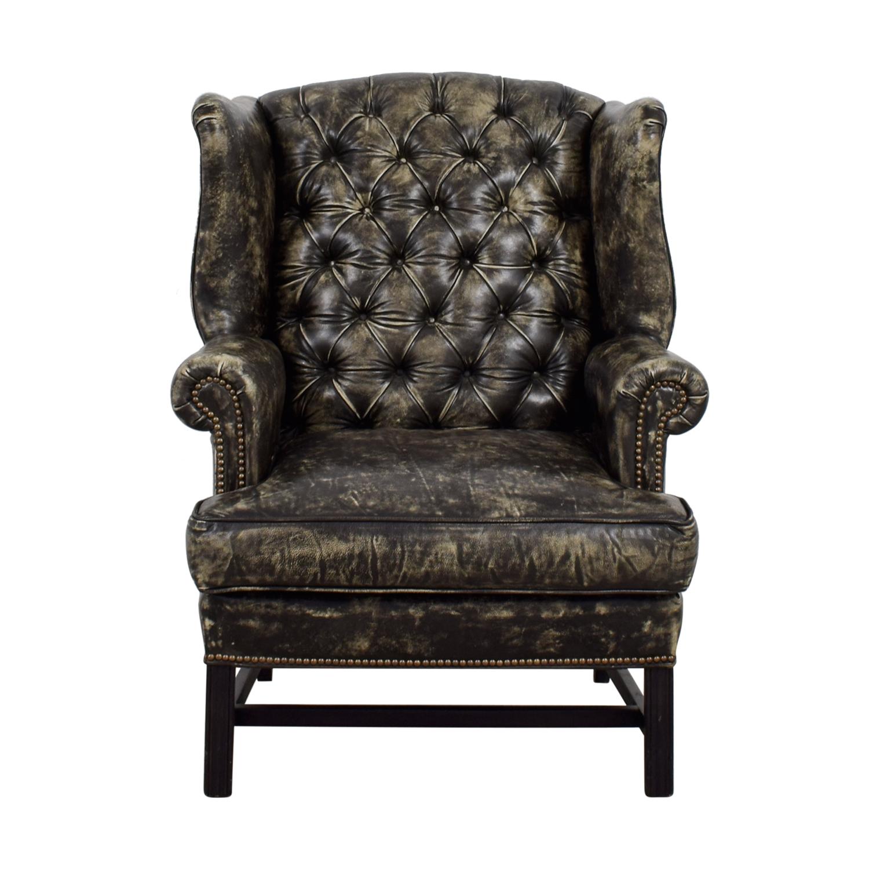 Restoration Hardware Leather Chair: Restoration Hardware Restoration Hardware