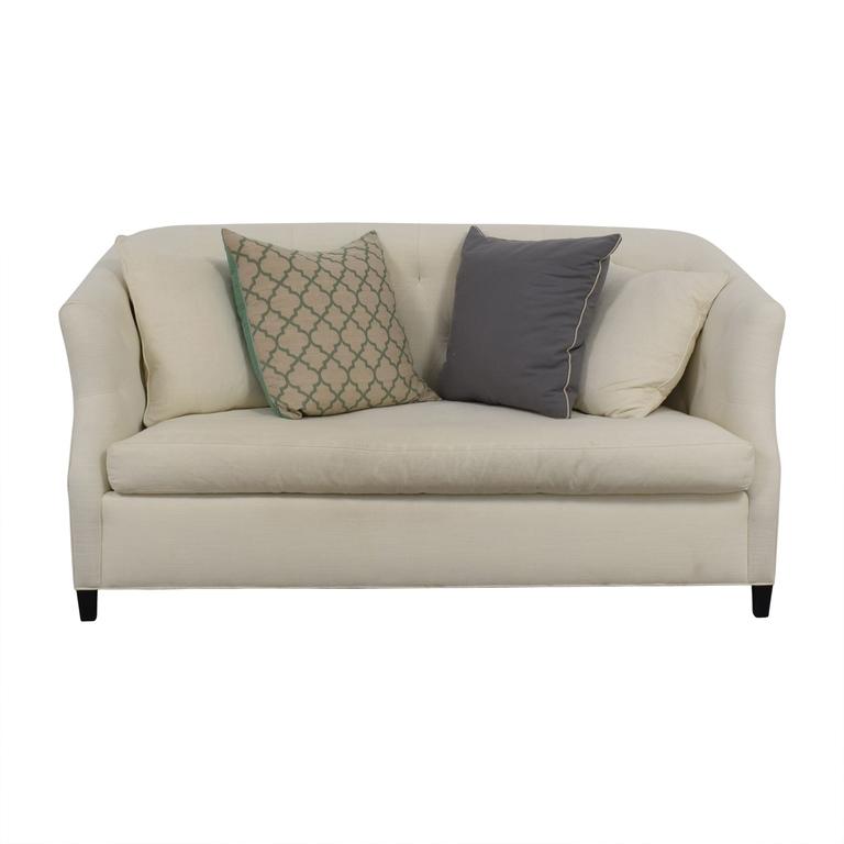 buy Safavieh Safavieh Tufted Off White Sette Sofa online