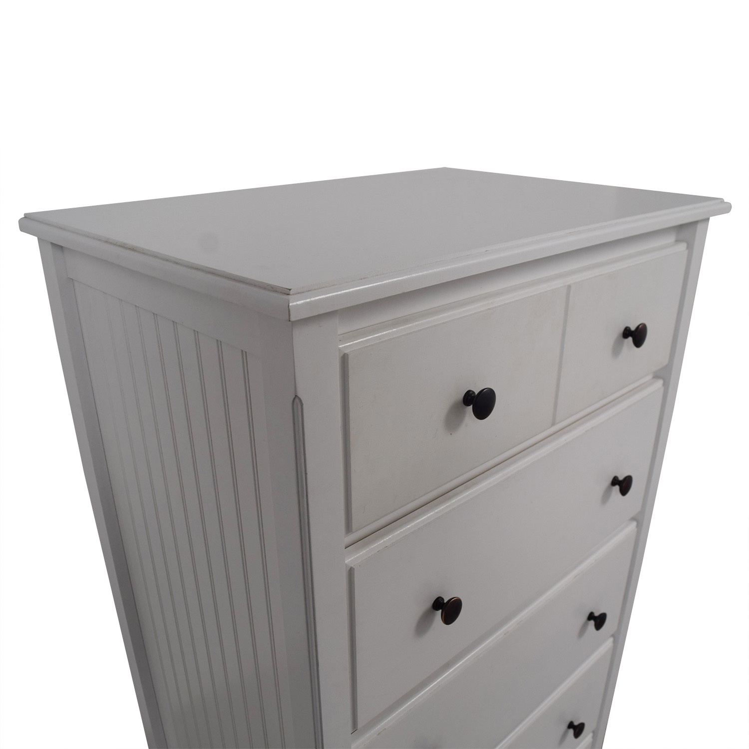 Boston Interiors White Beadboard Six-Drawer Dresser sale
