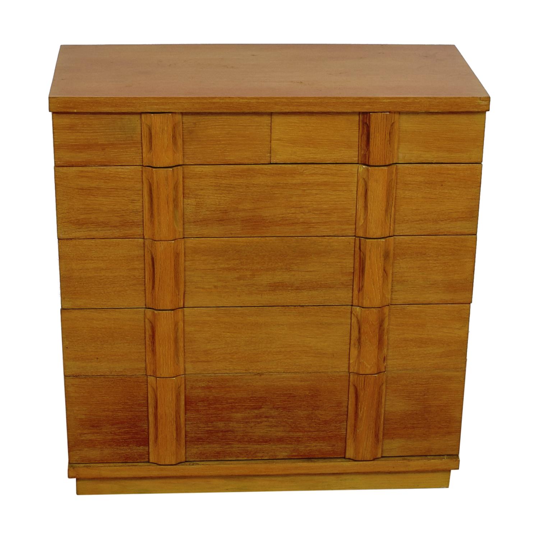 Five-Drawer Rustic Dresser / Dressers