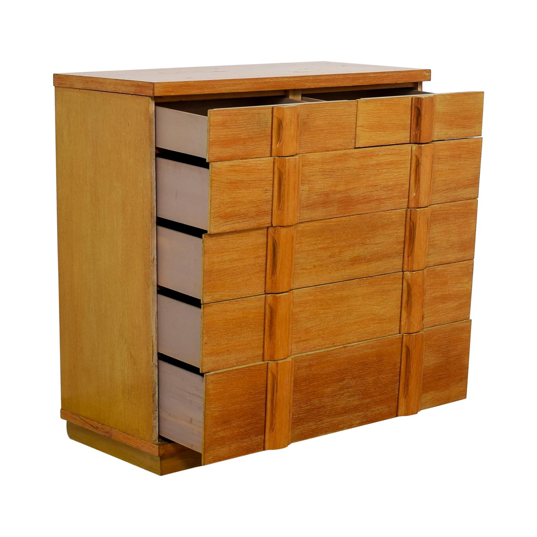 Five-Drawer Rustic Dresser for sale