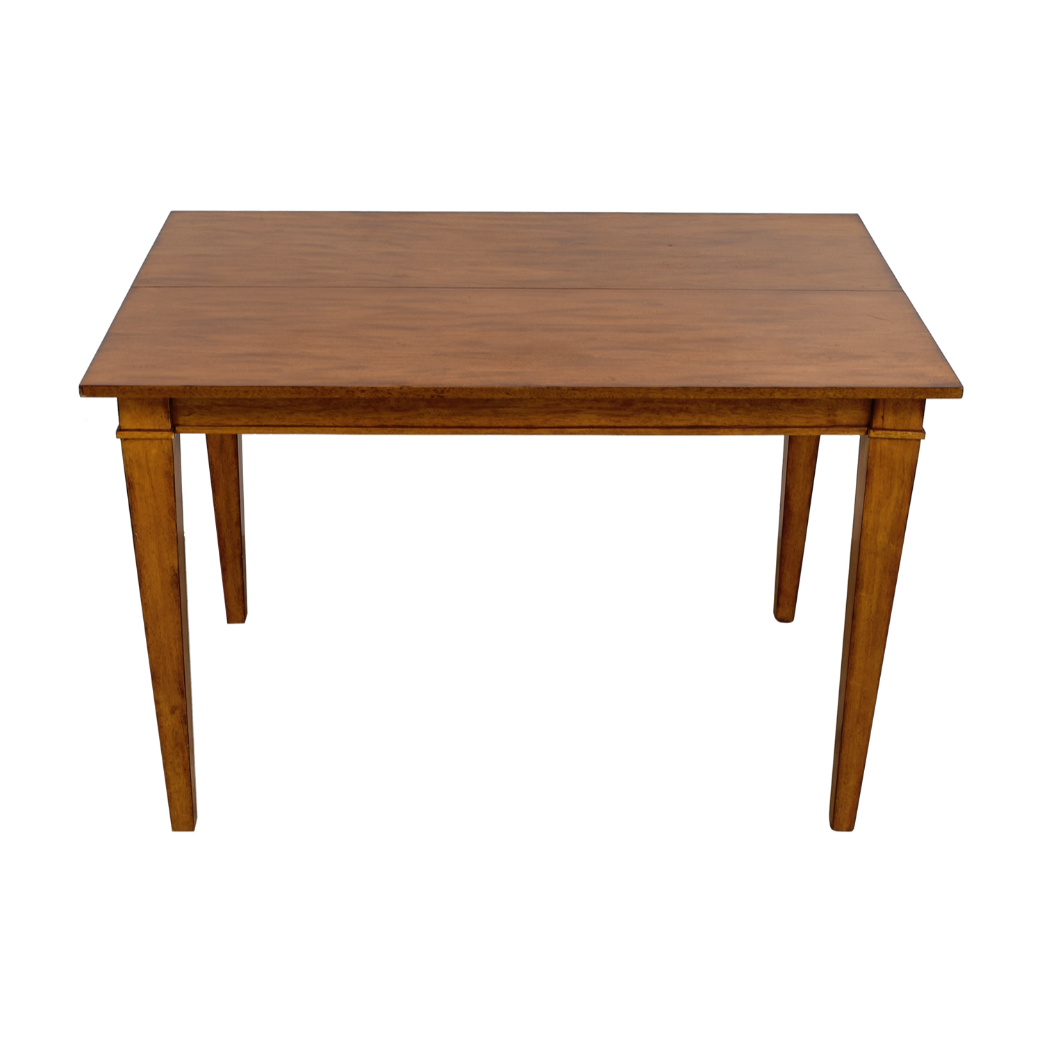 Ethan Allen Wood Expandable Dining Table Ethan Allen