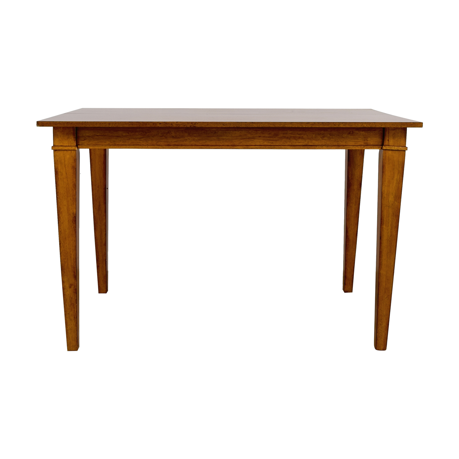 Ethan Allen Wood Expandable Dining Table / Tables
