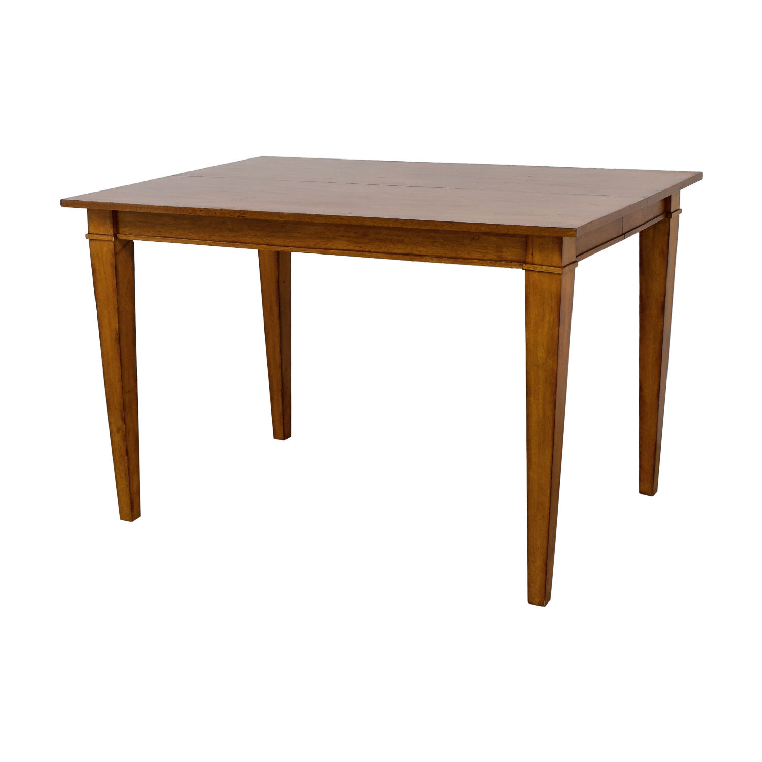 41 Off Ethan Allen Ethan Allen Wood Expandable Dining Table Tables