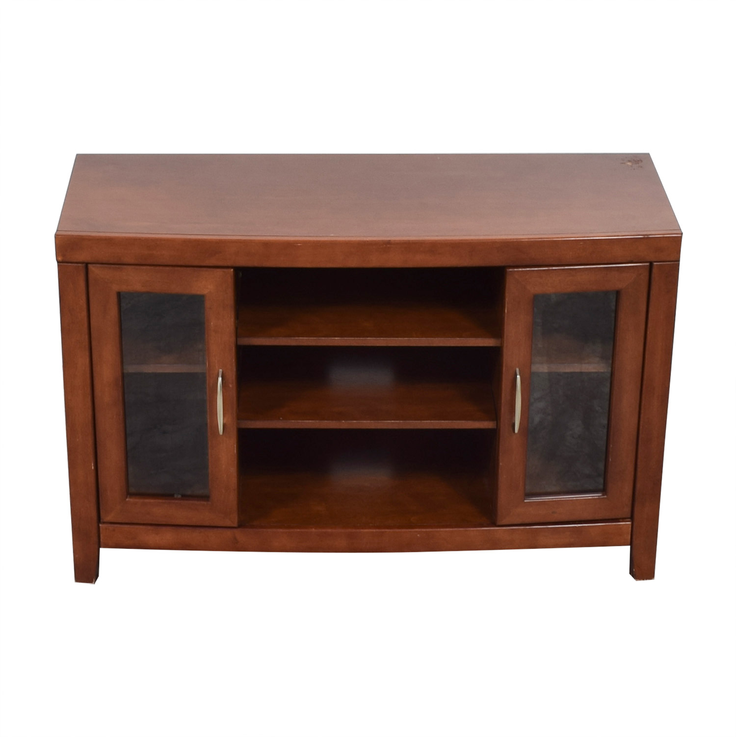 buy Raymour & Flanigan Raymour & Flanigan Del Mar Cherry TV Stand online