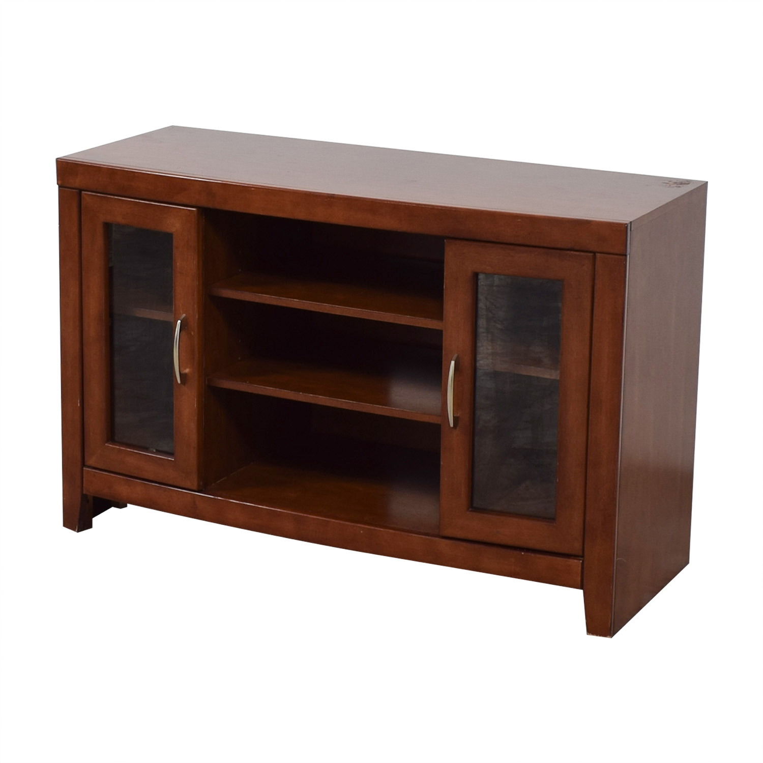 shop Raymour & Flanigan Raymour & Flanigan Del Mar Cherry TV Stand online