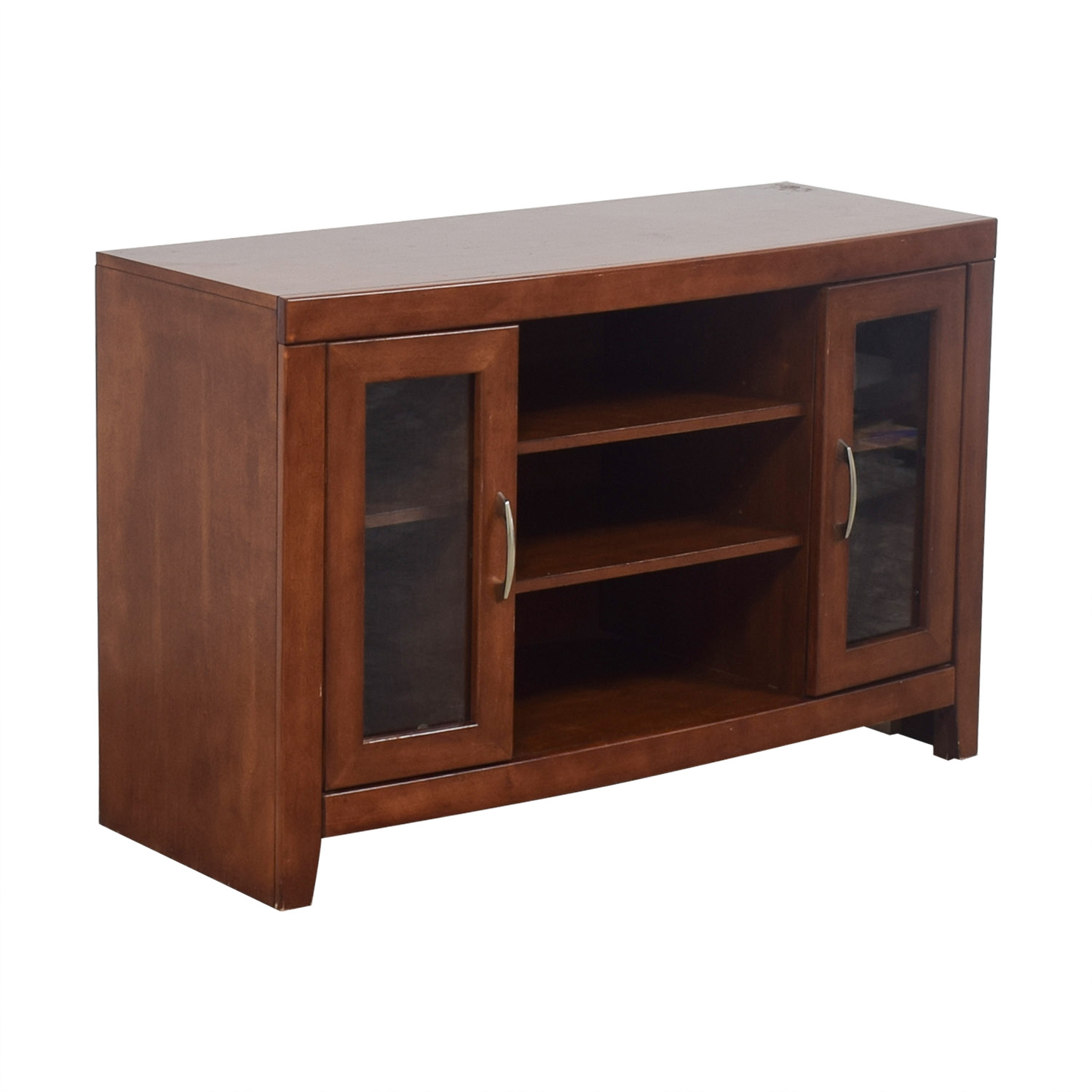 Raymour & Flanigan Raymour & Flanigan Del Mar Cherry TV Stand