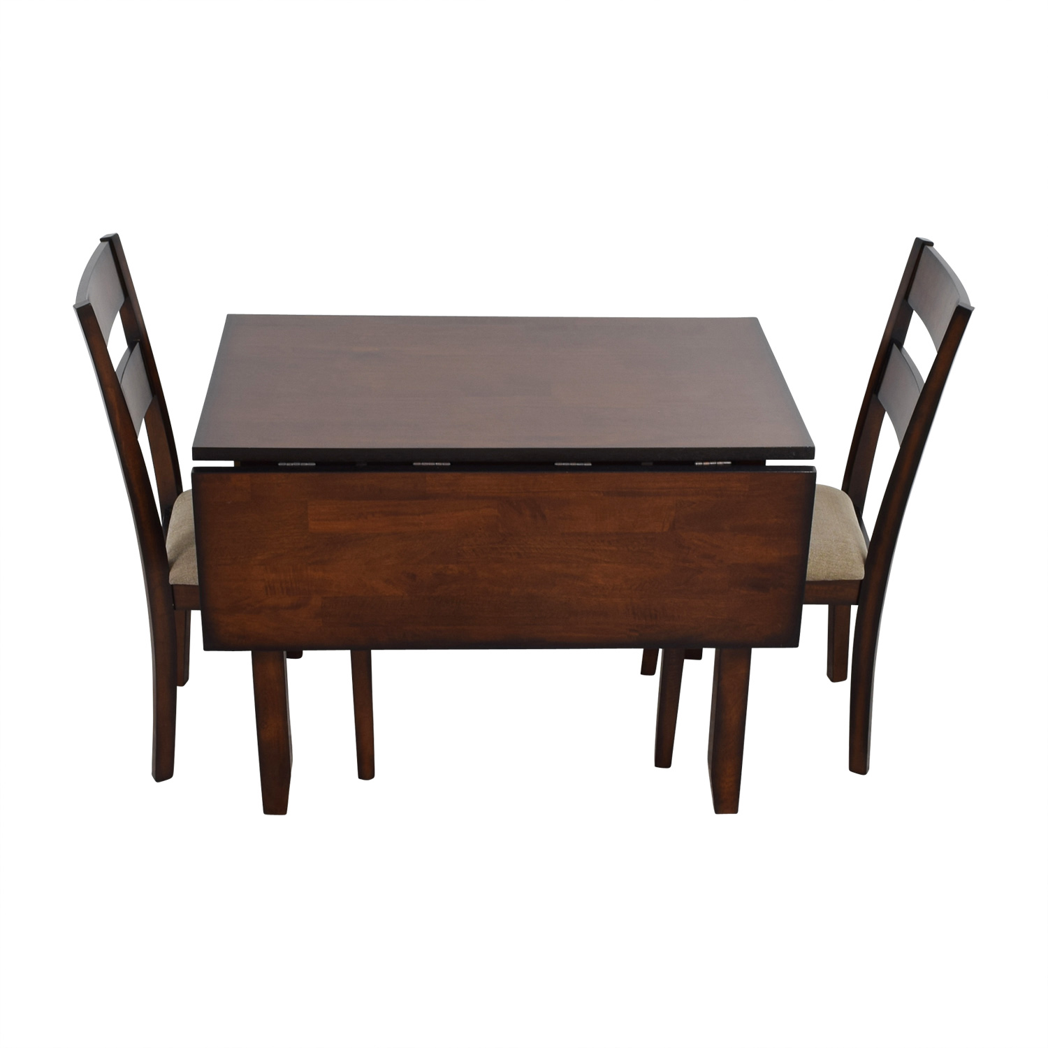 shop IFM Drop Leaf Table with Two Chairs IFM Sofas