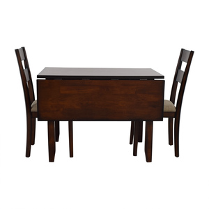 buy IFM IFM Drop Leaf Table with Two Chairs online