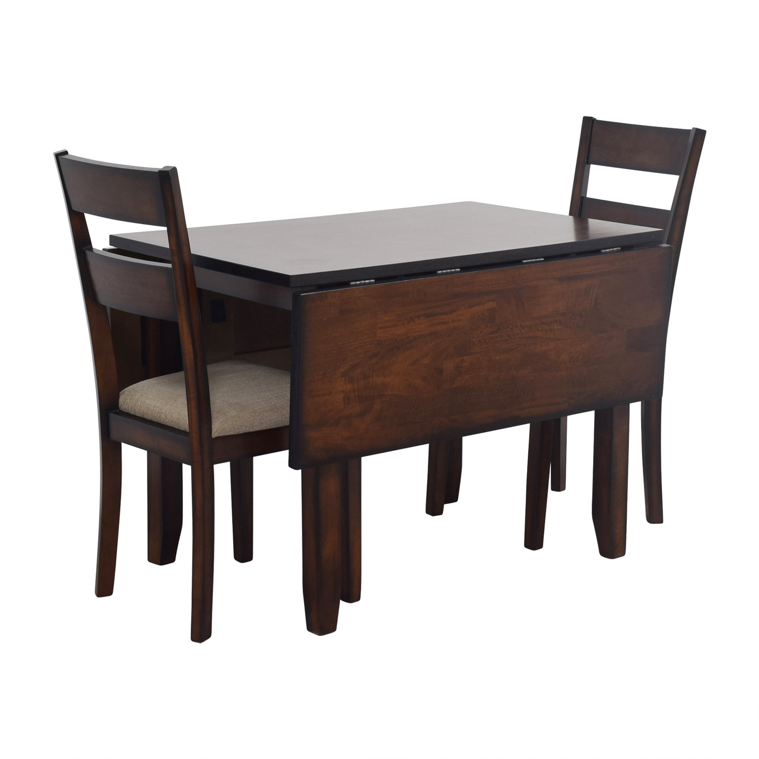 Genial ... IFM IFM Drop Leaf Table With Two Chairs ...