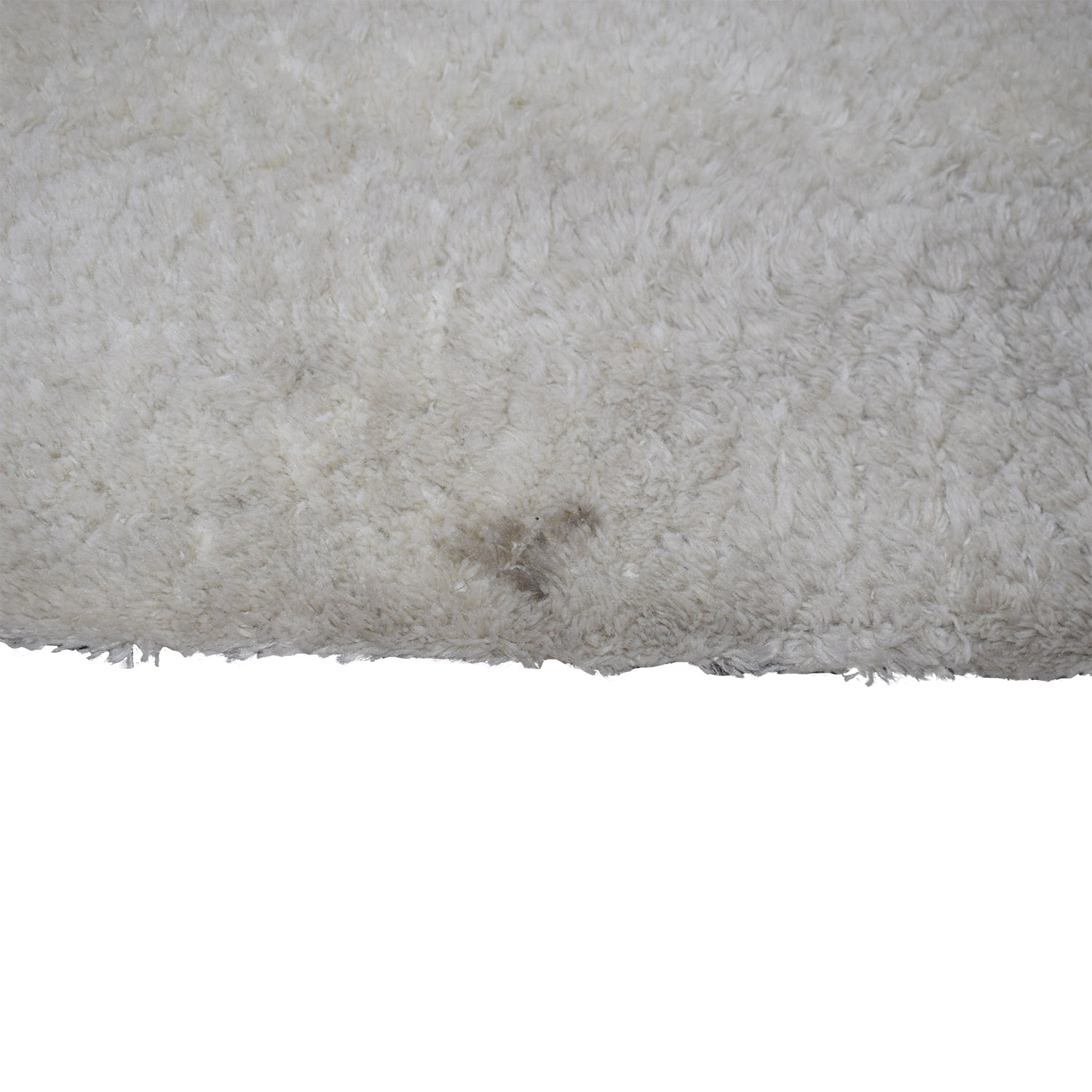90 Off Cream Wool Thick Pile Rug Decor