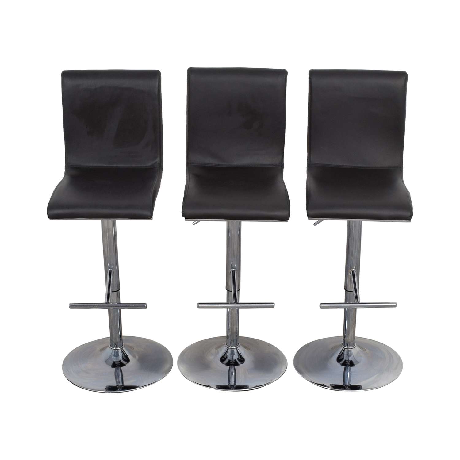 Lumi Source Lumi Source Grey Adjustable Bar Stools for sale