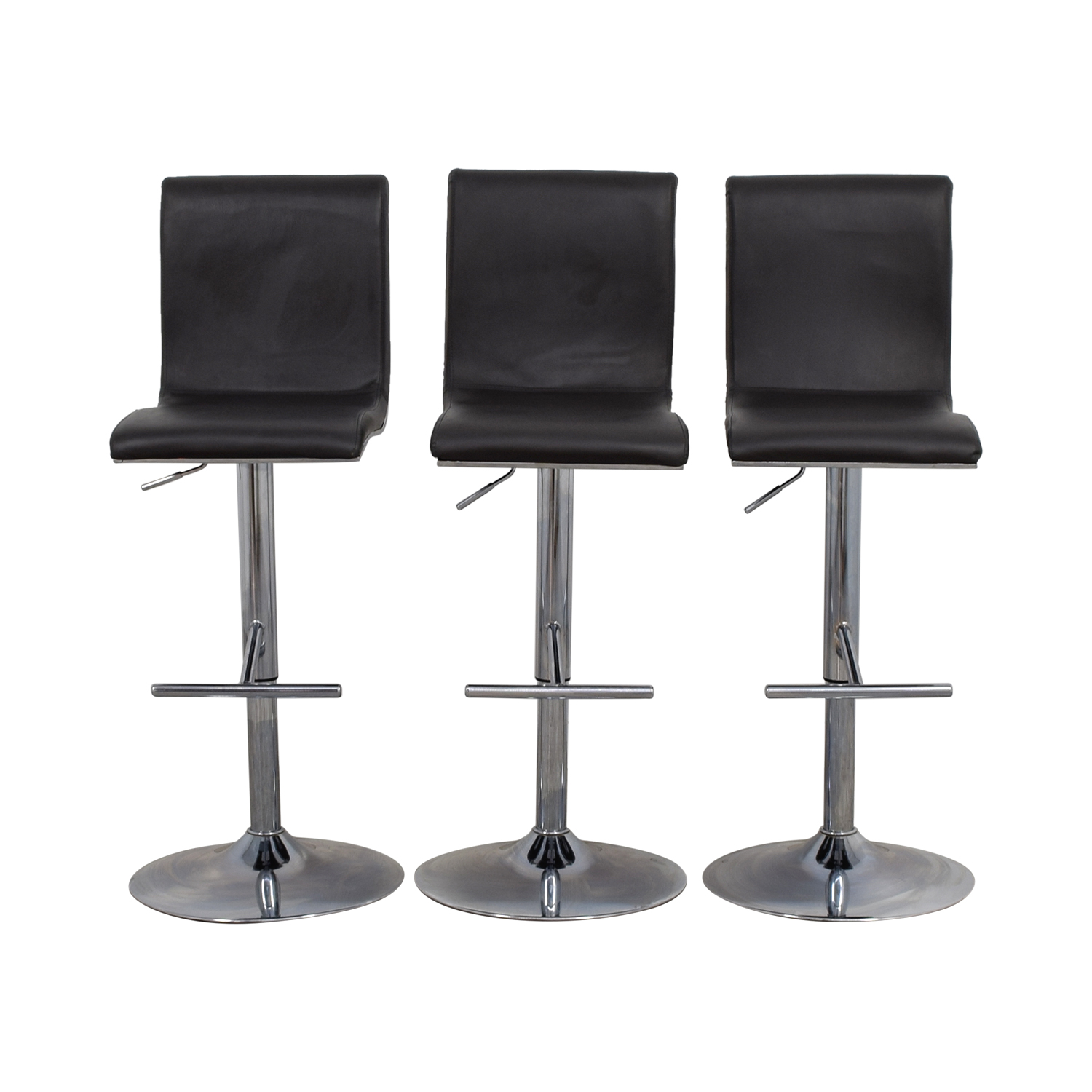 Lumi Source Lumi Source Grey Adjustable Bar Stools coupon