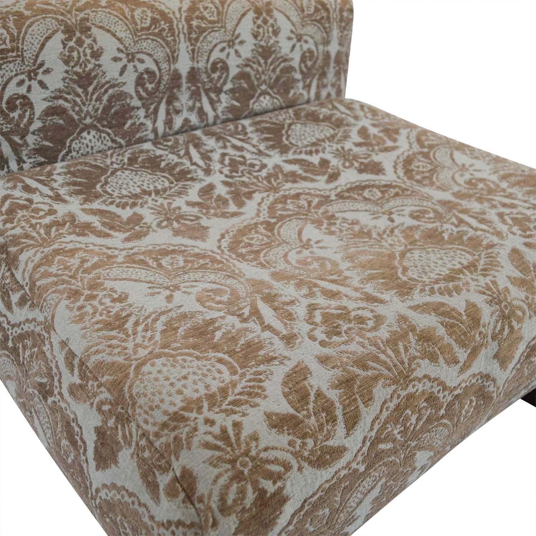 West Elm West Elm Multi-Colored Lounge Accent Chair