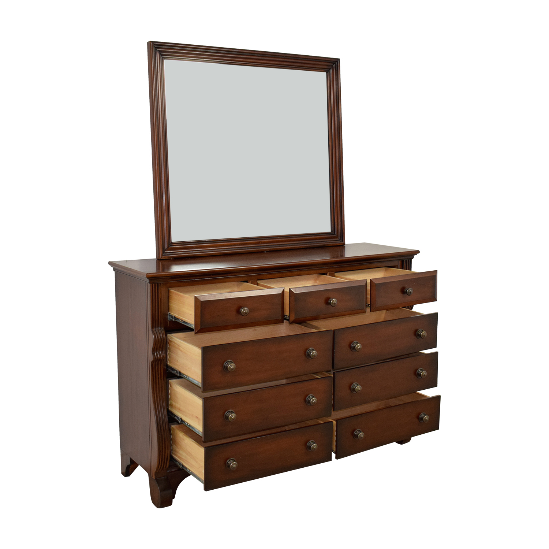 Bob's Furniture Bob's Furniture Nine-Drawer Dresser with Mirror price