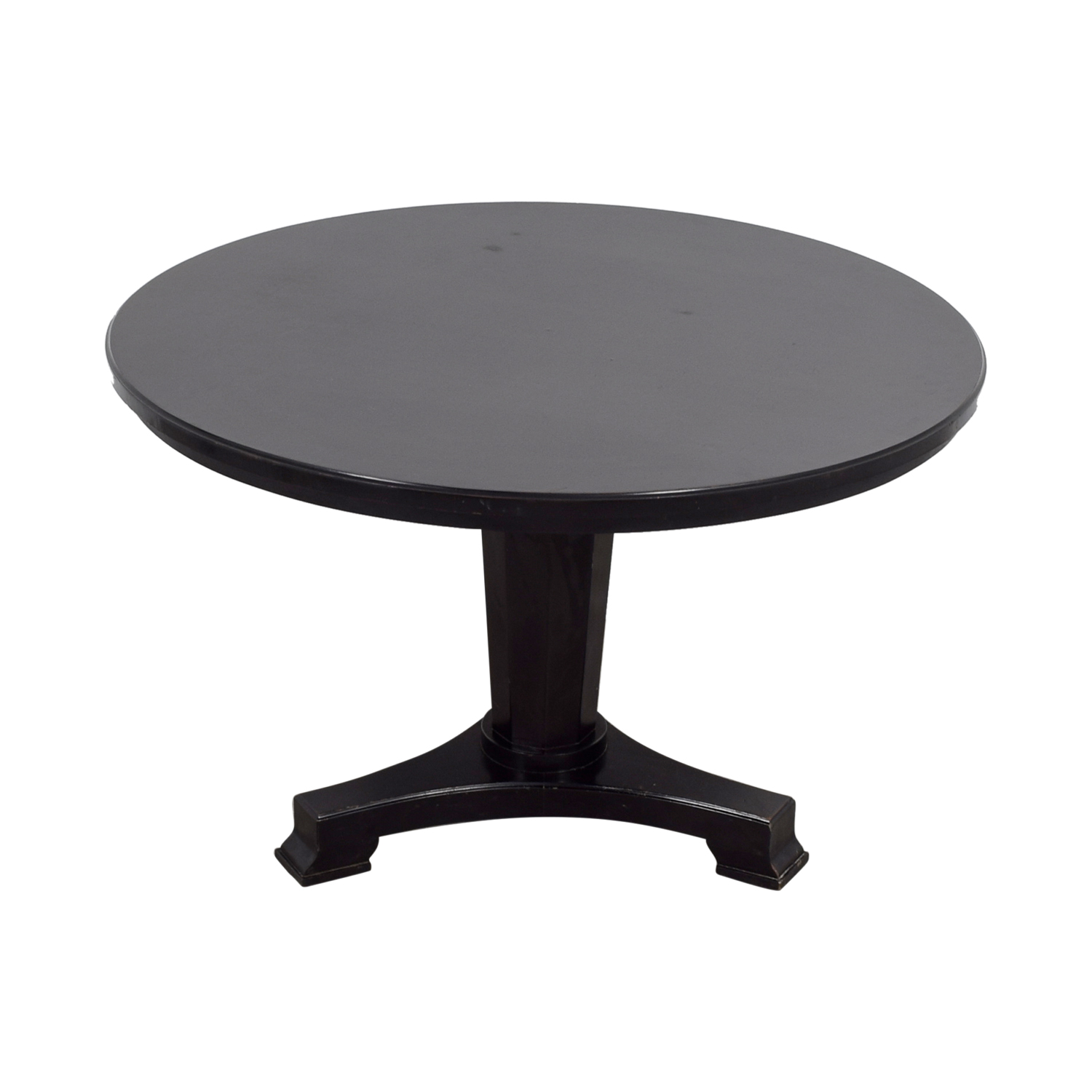 Oly Atelier Round Black Table sale