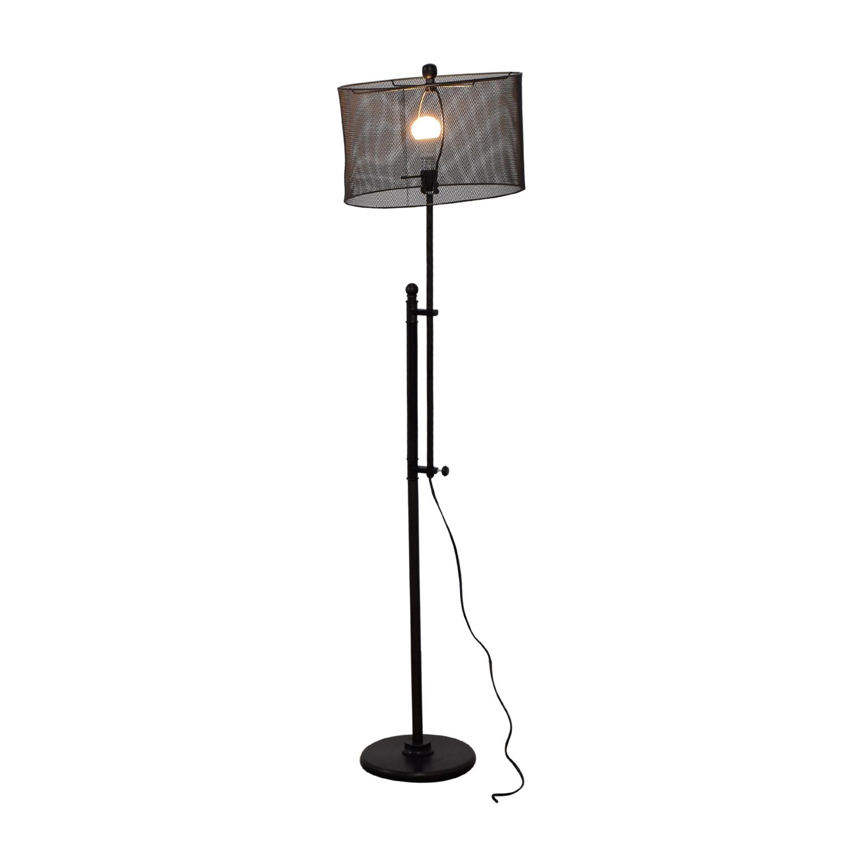 53 off industrial floor lamp decor industrial floor lamp second hand aloadofball Image collections
