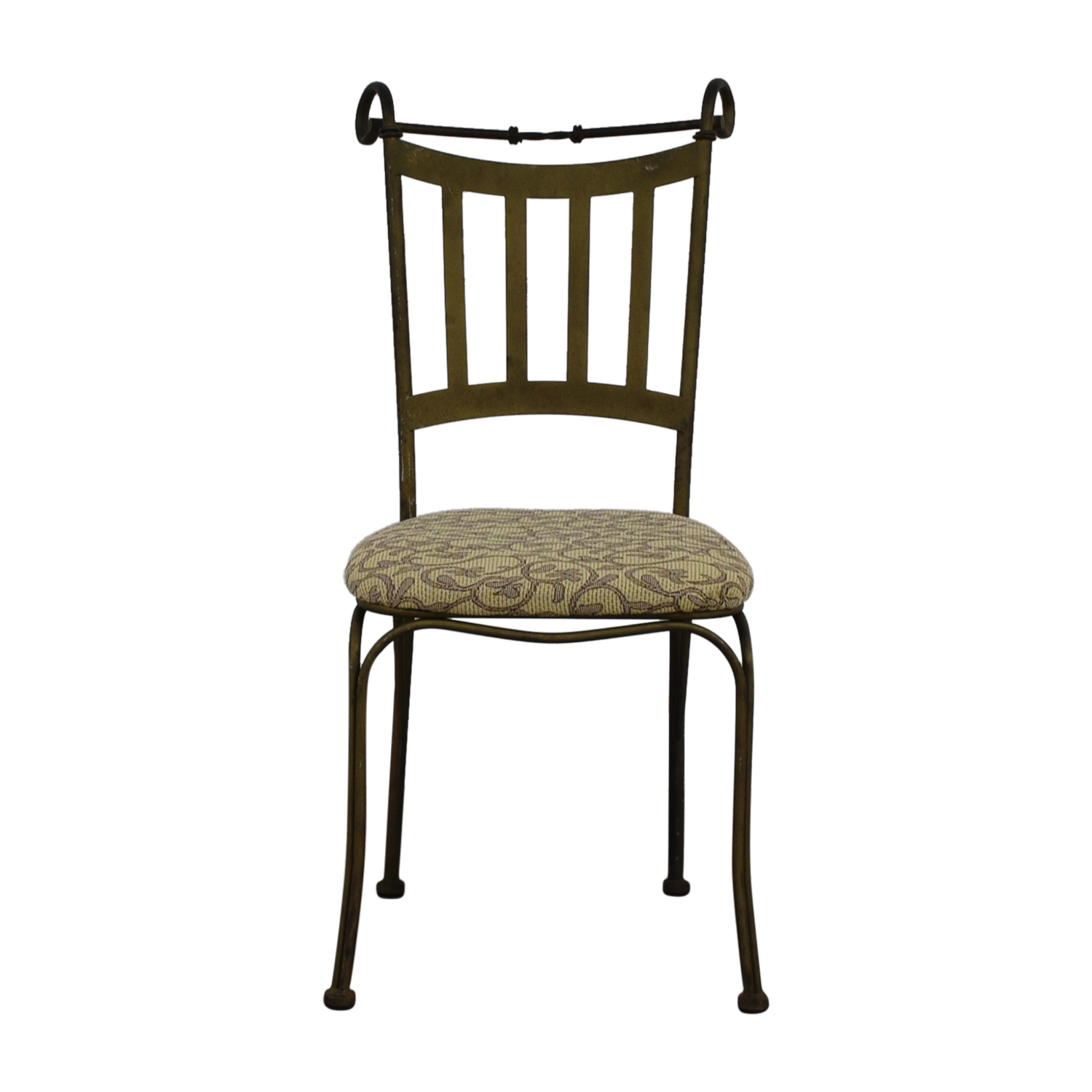 90 Off Metal Frame Dining Chair Chairs