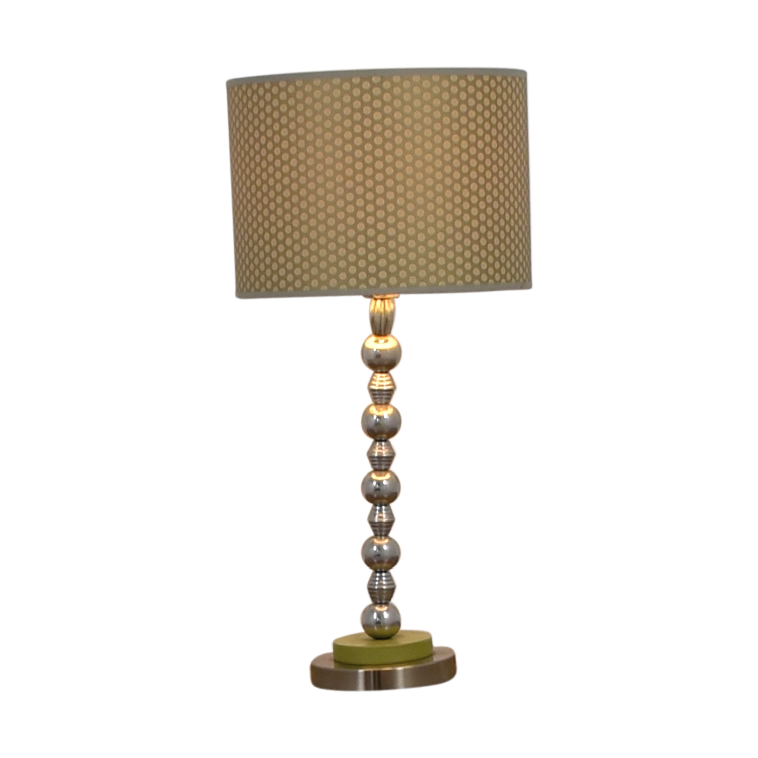 Contemporary Gold & Green Table Lamp discount