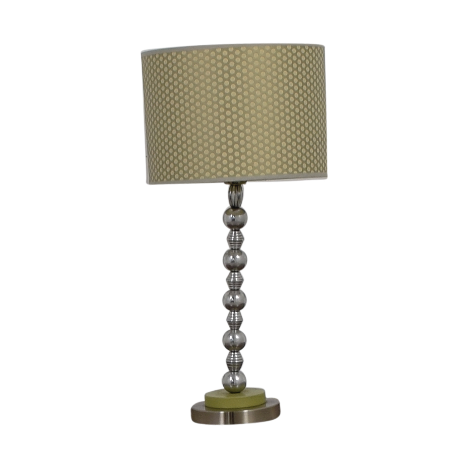 Contemporary Gold & Green Table Lamp