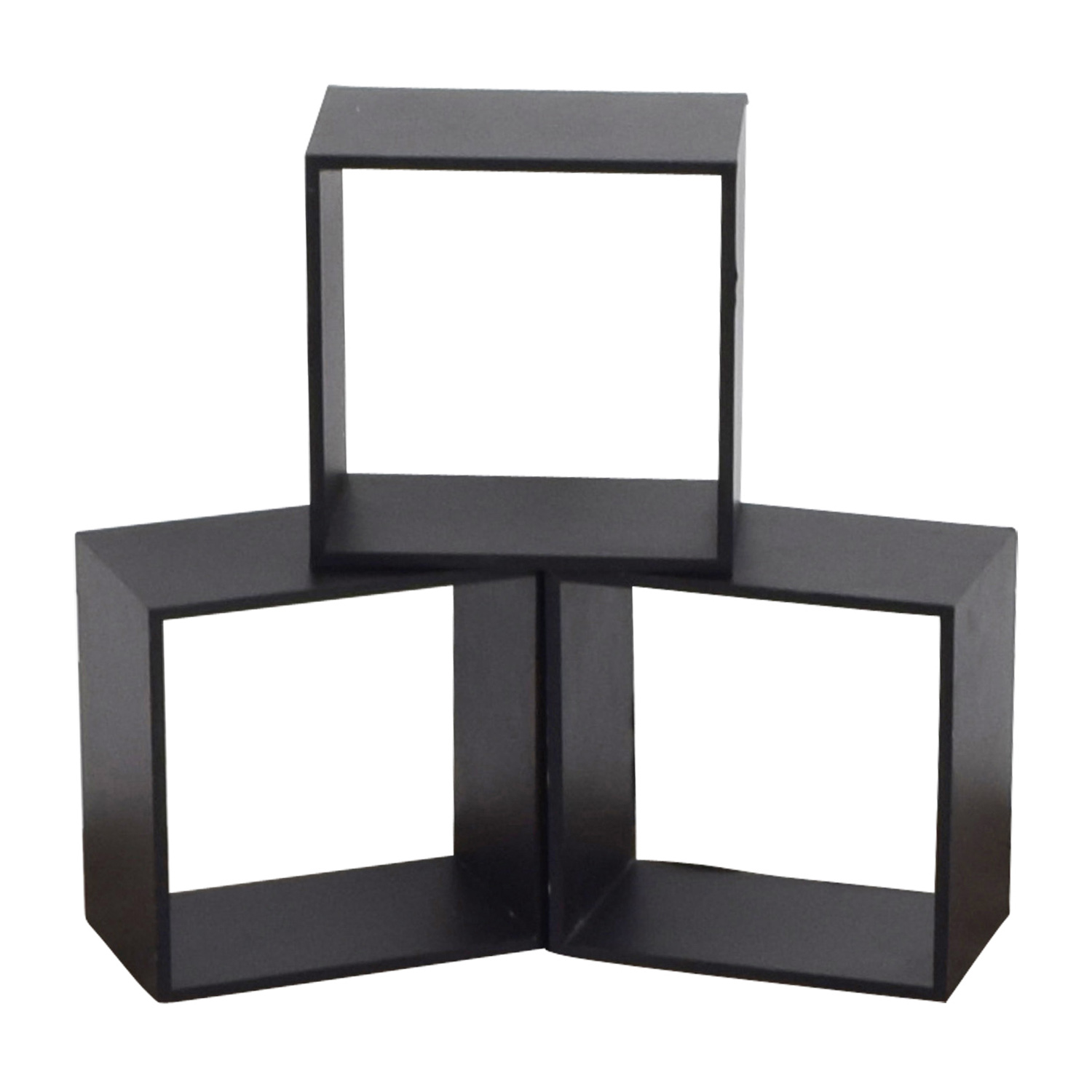 buy Black Decorative Wall Box Shelves Decor